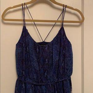 BR snakeskin dress